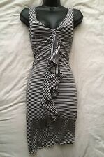 "PAUL SMITH BLACK LABEL Lovely Fine Stripe Dress Size ""S"" 8-10 UK"