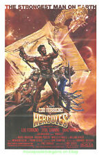 HERCULES MOVIE POSTER Folded Original 1983 DREW STRUZAN Artwork LOU FERRIGNO
