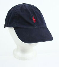 Polo By Ralph Lauren Navy Harvard Embroidery Snapback Hat