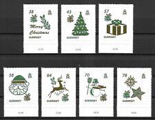 Guernsey Mi.Nr. 1587-1593** (2016) postfrisch/Weihnachten (Weihnachtssymbole)