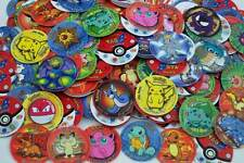 POKEMON 1 - Complete set of 51 Tazos Pogs Caps - First Generation - Nintendo