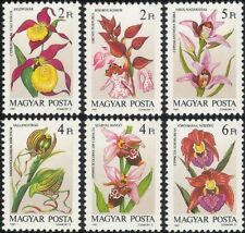 Hungary 1987 Flowers/Orchids/Nature/Plants/Horticulture 6v set (b232)