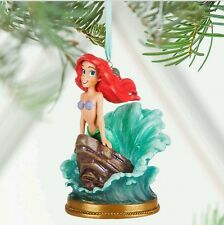 Disney The Little Mermaid Ariel Singing Sketchbook Ornament Christmas 2016 NIB