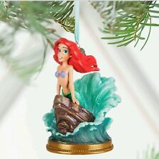 Disney Store The Little Mermaid Ariel Singing Sketchbook Ornament Christmas New