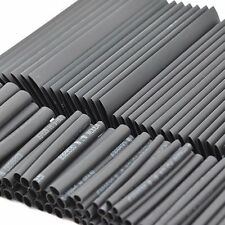 127Pcs Black Heat Shrink Tubing Weatherproof Sleeving Tube Assortment Kit 2-14mm