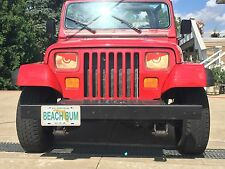 1987 1988 1989 1990 1991 Jeep YJ & XJ RED Angry Eyes Mad Eyes Super Cool Look