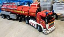 Building instruction Fire brigade Tanker car kom Self-made Unikat Moc