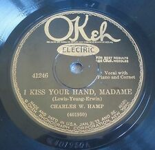 Charles W. Hamp - I Kiss Your Hand, Madame / Good Night (See You In The Morning)