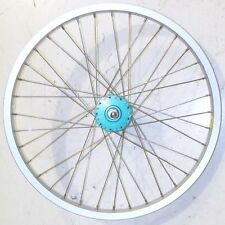 """JALCO FRONT LIGHT BLUE 20"""" YOUTH/KIDS BICYCLE ALLOY RIM BIKE PARTS B276"""