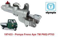 """197433 - Pompa Freno Completa """"Olympia"""" per Piaggio Ape TM P602 - P703"""
