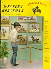 1963 The Western Horseman Magazine: Horse Paintings/All-Breed Issue