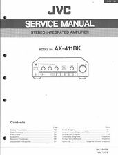 ,JVC Original Service Manual für AX-411