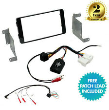 Mitsubishi L200,  Triton 2015  Double Din Car Stereo Fascia Fitting Kit CTKMT12
