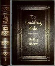 THE CANTERBURY TALES by Geoffrey Chaucer Easton Press Leather 1978