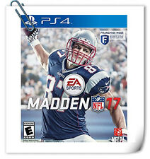 PS4 Madden NFL 17 SONY PlayStation Electronic Arts EA Sports Games