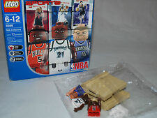 LEGO NBA COLLECTORS 3566~ new damaged box MISSING CARDS  Basketball Bags Sealed
