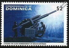 WWII Fall of Berlin Stamp (Around the Clock Artillery Bombardment)