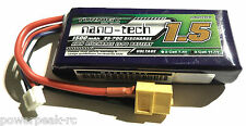 Turnigy Nano-Tech 1500mAh 3s 11.1v 35c 70c LiPo 129g for FPV 250 Mini Quadcopter