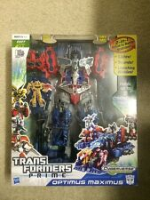 Transformers Optimus Maximus Action Figure Prime Cyberverse New Hasbro 2012 BIG