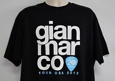 Gian Marco 2012 USA Tour Concert Graphic T-Shirt, Black (Men's, XL)