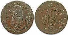 ROYAUME UNI HALF PENNY TOKEN NORTH WALES 1793
