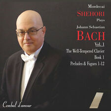 Mordecai Shehori Plays Bach Vol. 1, The Well-Tempered Clavier / CD (neu, OVP)