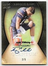 2013 UD Quantum Tim Tebow Renditions Auto Autograph TEBOWING 2/5 Signature Move
