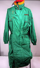 Vintage 80's Descente Long Coat Alping Official Supplier of Canada Ski Team