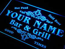 Name Personalized Custom Family Bar & Grill Beer Home Gift Light Neon Sign Gift