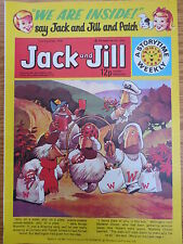JACK & JILL COMIC 2 December 1978 Birthday Gift The Wombles Tiger Tim VINTAGE