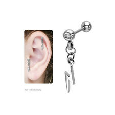 Lightning Cartilage / Tragus Earring - BSC-1173