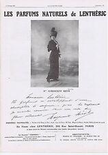 PUBLICITE ADVERTISING 054 1911 Les Parfums Naturels de Lenthéric Melle Brésil