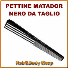 COMB FROM CUT MATADOR in EBONITE A.C. PROFESSIONAL Hairdresser hair