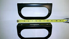 "(2) Trailer Truck Steel 6"" Oval Tail Light Guard Mounting Brackets FREE SHIPPING"
