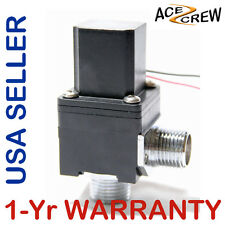 1/2 inch Latching Pulse Solenoid Valve NPSM Rectangle 6 VDC Low Power Long Life