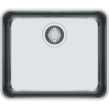 FRANKE Aton ANX 110-48 Stainless Steel Kitchen Sink Waste&Overflow Undermount