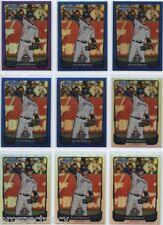 Lot of (143) Ryan Braun 2012 Bowman Chrome COLOR Cards - Milwaukee Brewers OF