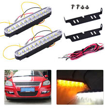2Pcs Car 12V 30 LED Daytime Running Fog Bulb Day Light Turn Light Lighting DRL