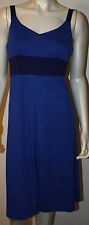KUHL Light Dark Blue Dress L Aerosoft Easy Care LN