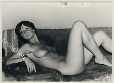 TALL & SLIM YOUNG NUDE WOMAN / SCHLANKE NACKTE JUNGE FRAU * Vintage 70s Photo