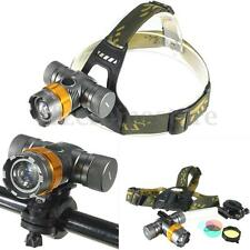 Elfeland 6000Lm T6 LED Headlamp Bicycle Bike Cycling Front Head Light Lamp