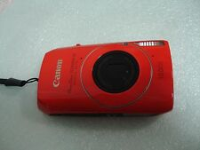 LikeNew Canon Powershot SD4000 IS IXUS 300 HS 10MP Digital Camera - Red