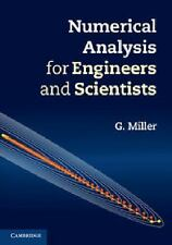 Numerical Analysis for Engineers and Scientists by G. Miller (2014, Hardcover)