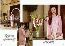 Mahnur Pakistani Designer Embroidered Tunic Top Women Indian Kurta Kurti