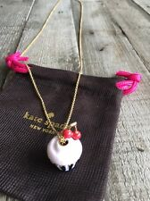 "Kate Spade New York ""Magnolia Street"" Cupcake  Long Pendant Necklace, NWT"