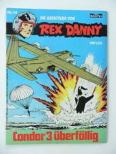 Die Abenteuer von Rex Danny - Heft Nr: 14. Comic - Bastei Verlag.