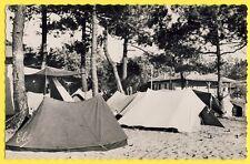 cpsm VIEUX BOUCAU LES BAINS (Landes) Ville d'Hiver Camping LES CAMPEURS Tentes