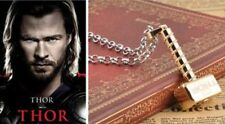 """Unique Golden ID """" Loki's Hammer """" Necklace Marvel Thor The Dark World Review"""
