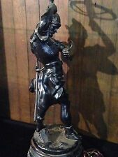 Large Figural lamp/Newel Post light/spelter