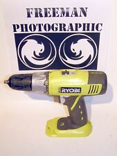 "Ryobi P203 18 Volt 1/2"" Cordless Drill Driver Used Tested 18 V Bare Tool 13mm #2"